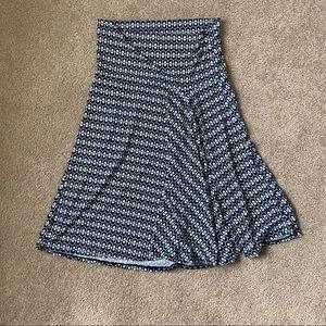 Max Studio printed skirt NWT